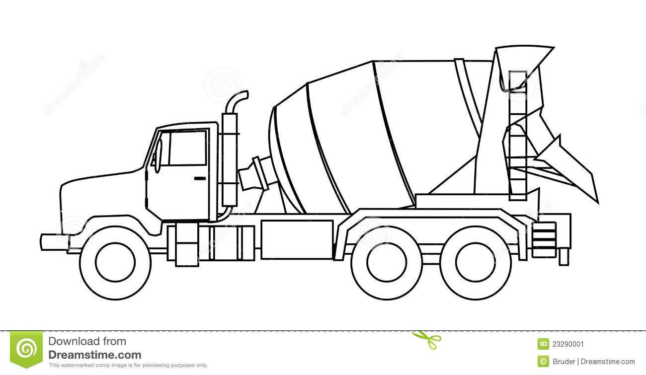 Cement Mixer Truck 23290001 Brisbane Concrete